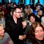 Sänger Peter Arnegger, verschwitzt, aber glücklich :-) Fotos: Thomas Decker, Team Ralf Graner Photodesign
