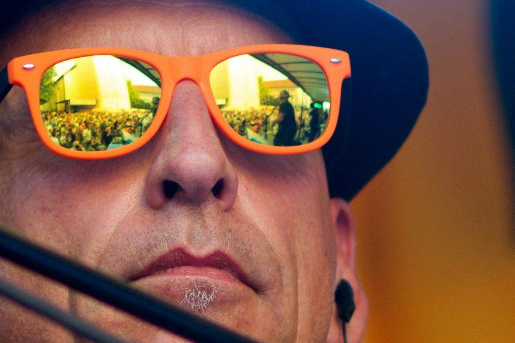 Der Tom, die Sonne und die Brille :-) Foto: Uli Küppers